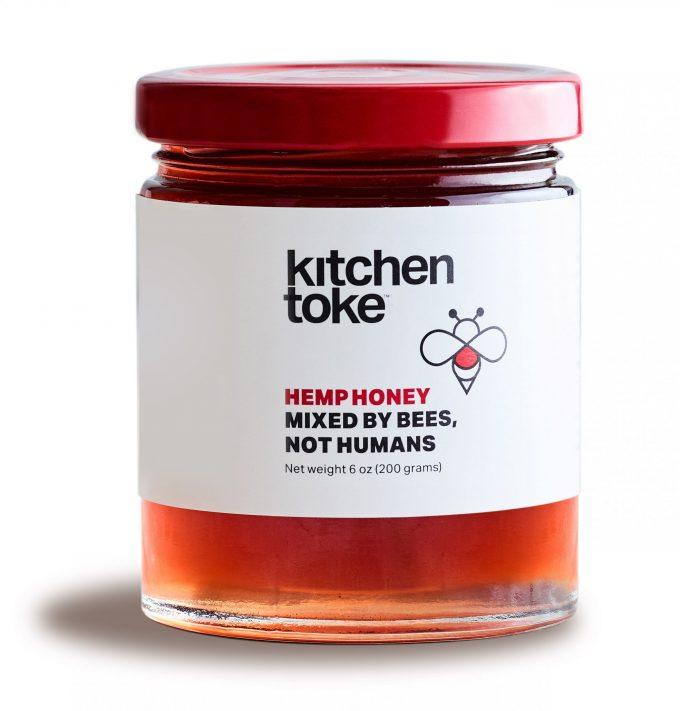 Kitchen Toke Hemp Honey Jar