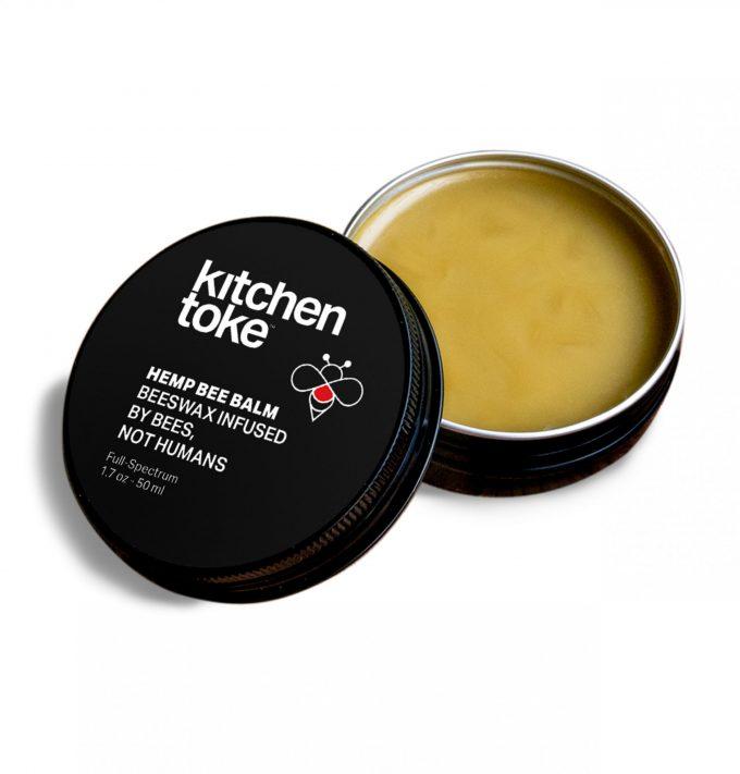 Buy Kitchen Toke Hemp Bee Balm open container